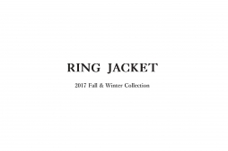 2017 fall&winter RING JACKET collection catalog