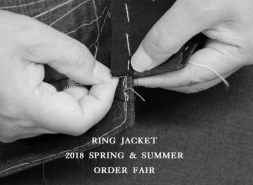 A Notification of 2018 Spring&Summer RING JACKET BUNCH ORDER FAIR