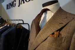 RING JACKET stand at Pitti Immagine Uomo